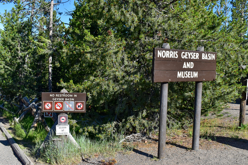 Norris Geyser Basin Trailhead
