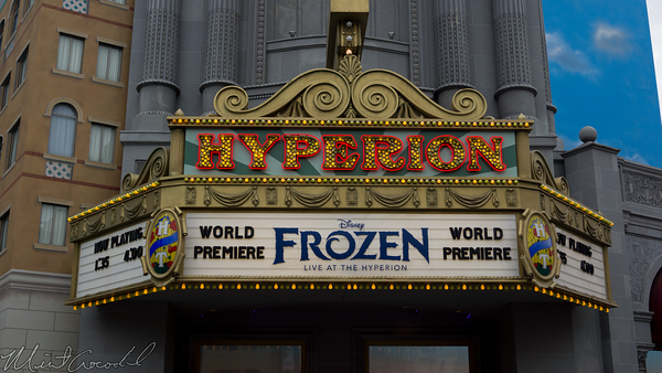 Disneyland Resort, Disney California Adventure, Hollywood Land, Hyperion Theater, Hyperion, Frozen, Frozen Live, Fast Pass, FastPass, Fast, Pass