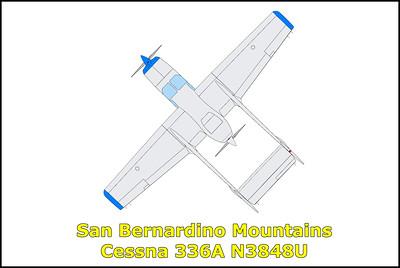 San Bernardino Mountains Cessna 336A N3848U 5/15/18