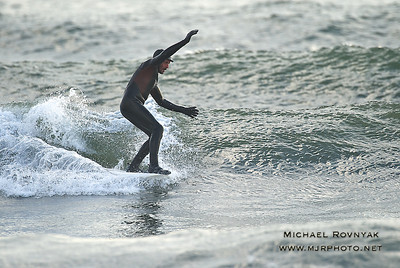Surfing, L.B. West, NY, 12-31-11