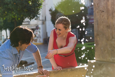 Pre Wedding Shoot, Old Town Marbella - Hayley and Lawrence