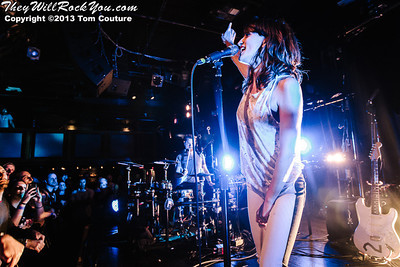 Dragonette <br> May 7, 2013 <br> The Paradise - Boston, MA <br> Photos by: Tom Couture