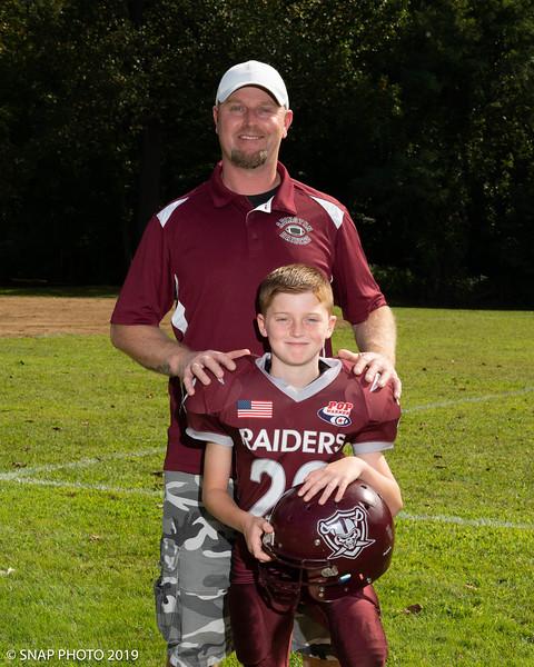 2019 Abington Raiders Coach-Player Shots