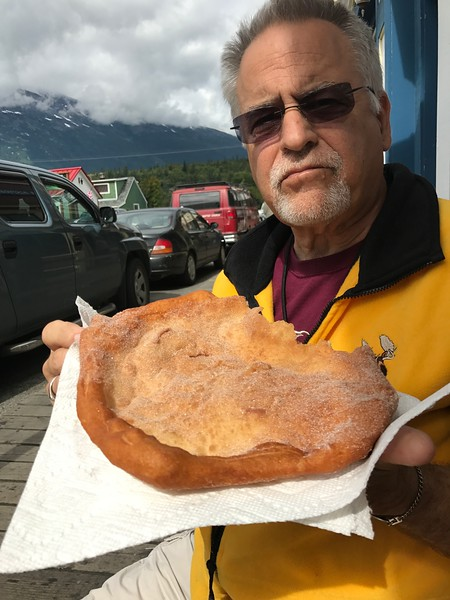 FRIED DOUGH IN SKAGWAY - WHO WOULDA THOUGHT!