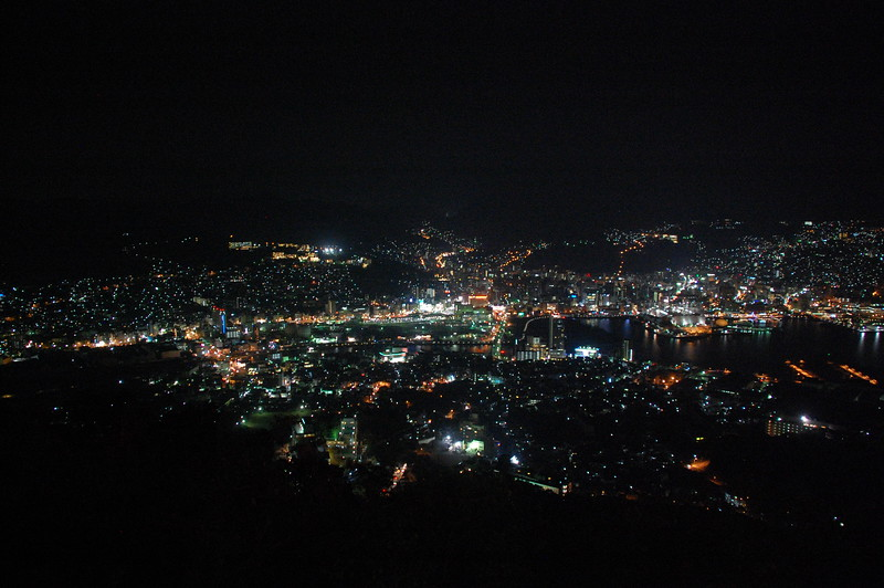 Nagasaki viewed from Mount Inasa