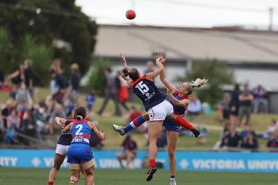R4 AFLW Footscray Vs Melbourne