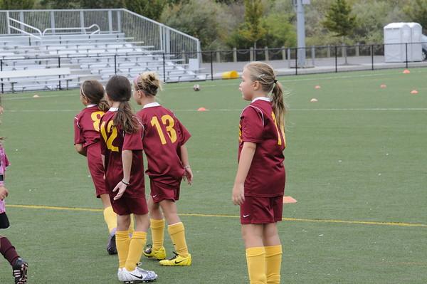 2010 Massapequa Soccer clinic Hofstra verse St. John's