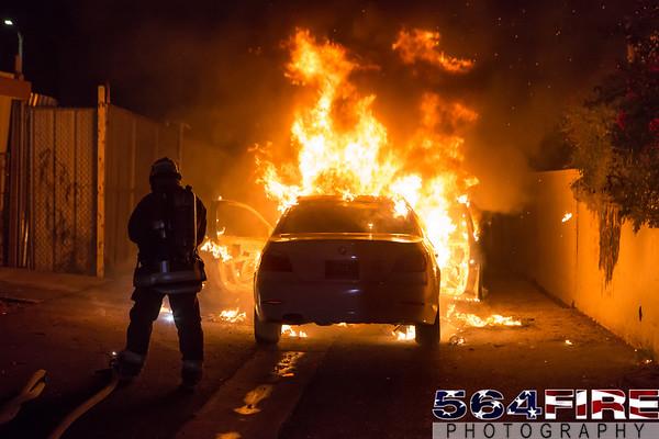 LAFD - Auto Fire - 12-10-15