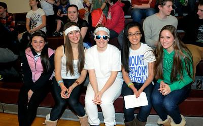 2013 AMHS Girls Basketball vs Proctor photos by Ga