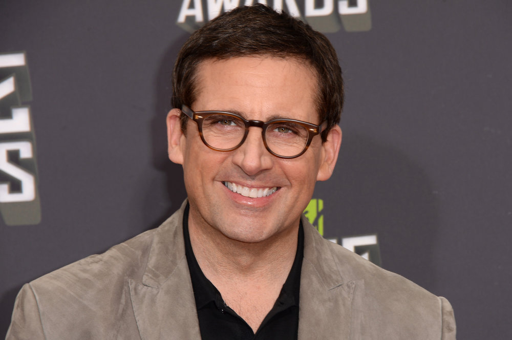 . Actor Steve Carell arrives at the 2013 MTV Movie Awards at Sony Pictures Studios on April 14, 2013 in Culver City, California.  (Photo by Jason Merritt/Getty Images)