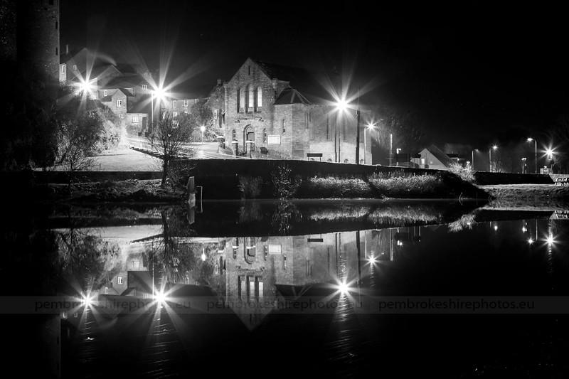 Pembroke Castle Mill Pond