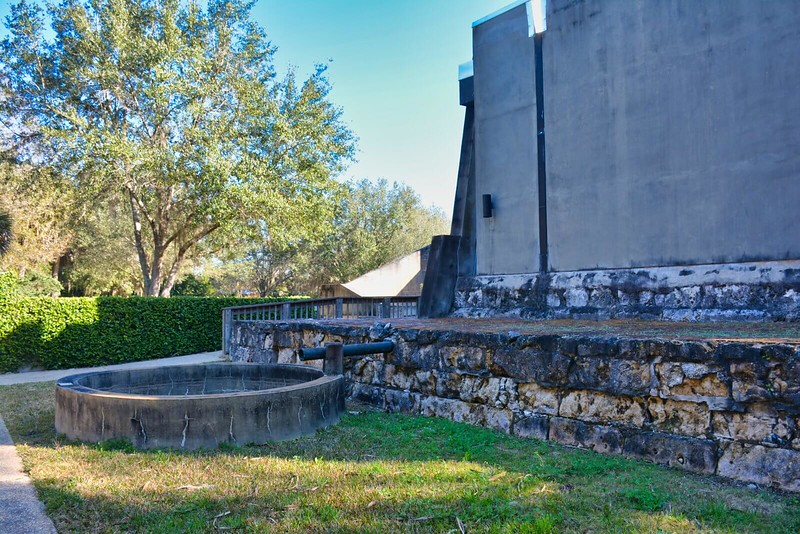 San Marcos de Apalache museum cistern