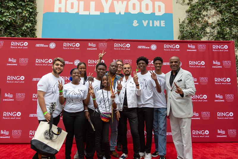 2019_07_07, Birthday, CA, Capitol Records, Los Angeles, Ringo, Ringo Starr, Brian Rothschild, Fernando Pullum, Senator, Steven Bradford