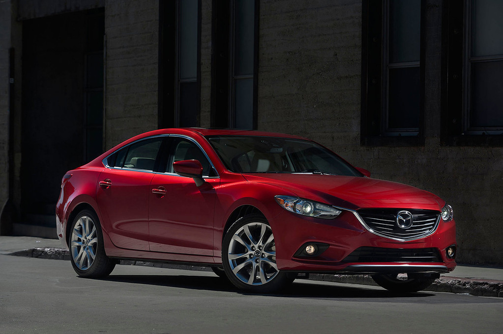 . The all-New 2014 Mazda6 Debuts at LA Auto Show.  (PRNewsFoto/Mazda North American Operations)