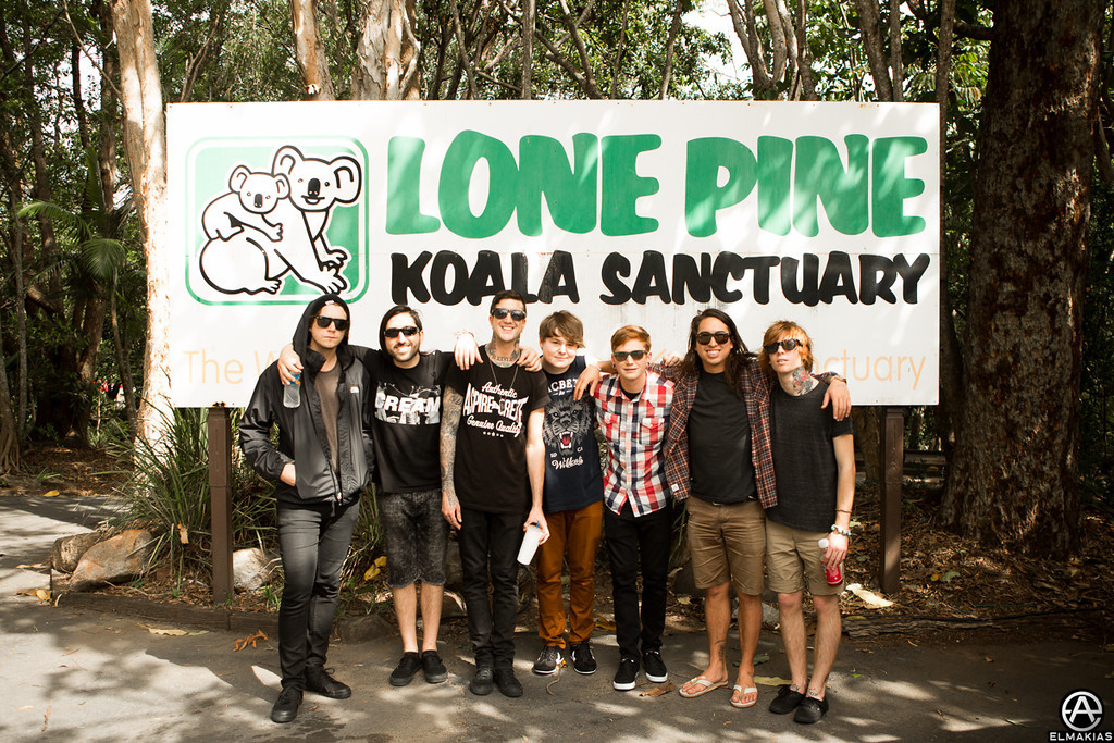 Of Mice & Men band and crew