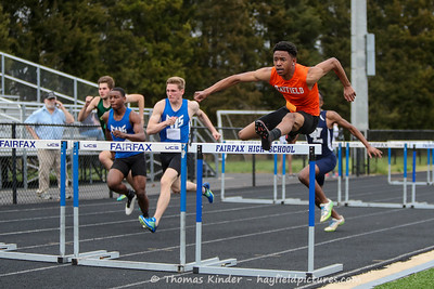 Boys Outdoor Track & Field at Fairfax 4/5/17