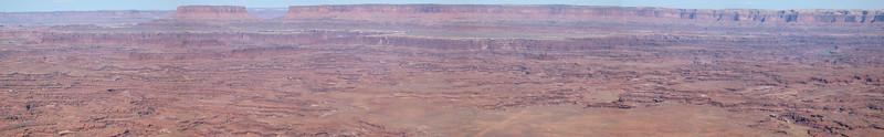 Panorama of the White Rim