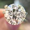 3.86ct Old European Cut Diamond GIA K VS2 3