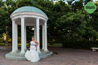 Rebecca | A Fun & Colorful UNC Chapel Hill Bridal Session