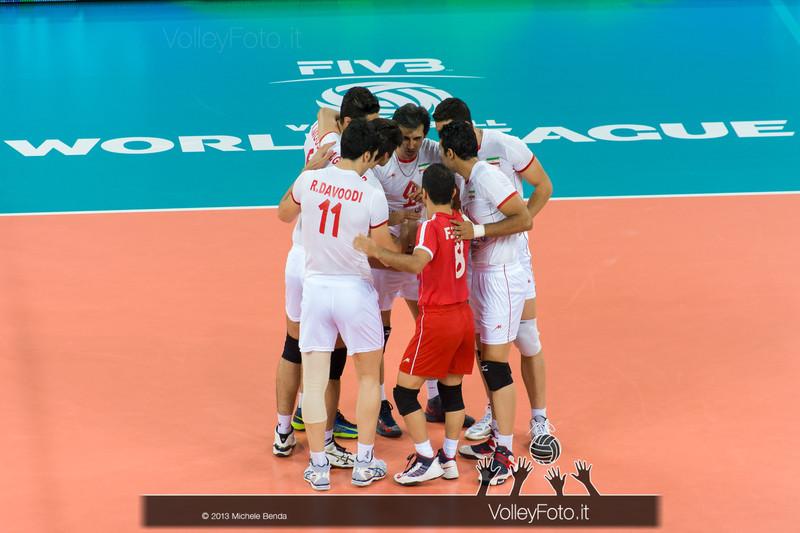 Iran - Italia-Iran, World League 2013 - Modena