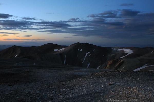 Sunrise On Mt. Patterson, CA 11,673'