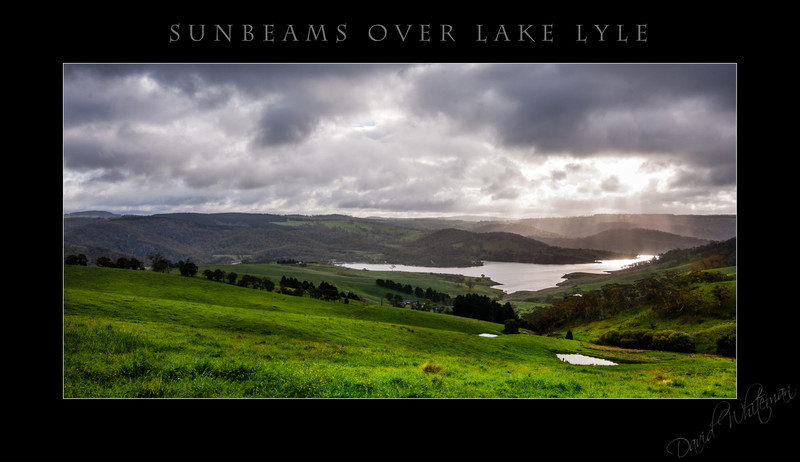 Sunbeams Over Lake Lyle