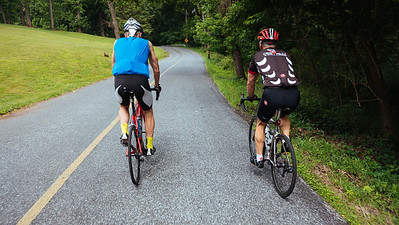 French Creek Loop with Mike and Pat