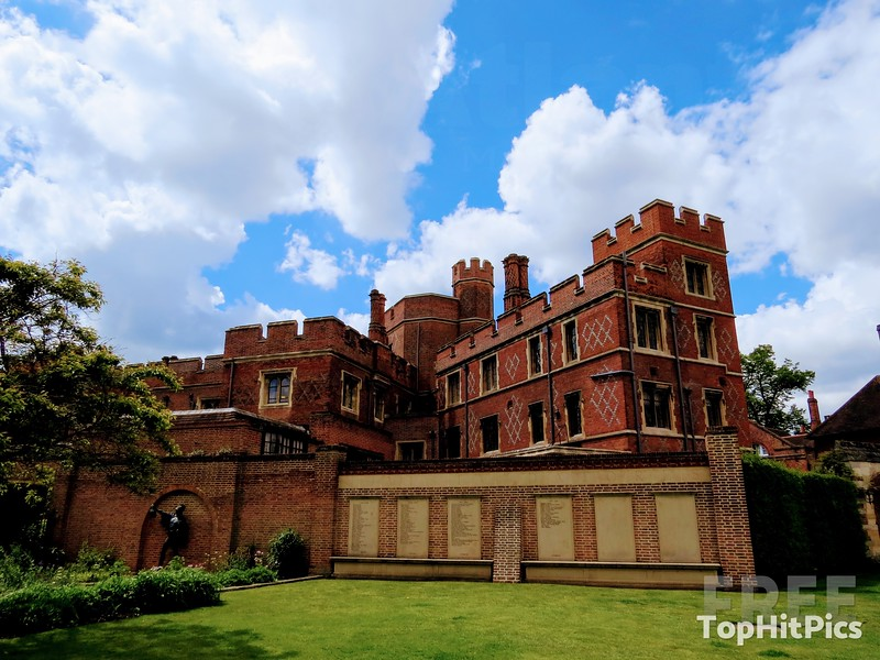 Eton College in Windsor, Berkshire, England