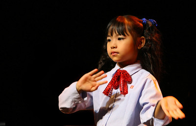 Small Wonders show at the Kad Theatre, Chiang Mai
