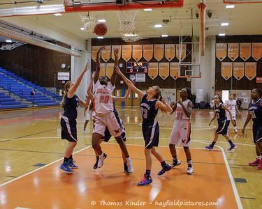 Girls JV Baskteball vs Washington Lee 1/10/17