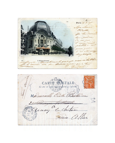 L'Hippodrome - Paris - 1901
