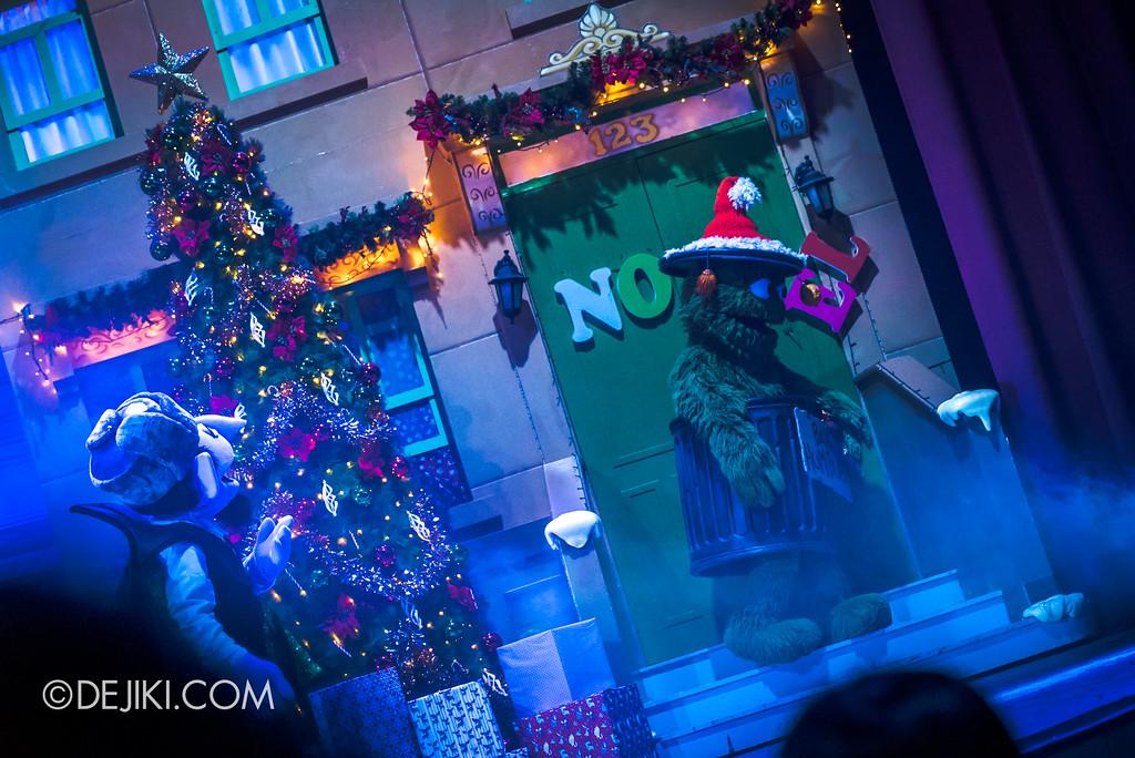Universal Studios Singapore Christmas 2017 - Oscar's Grouchmas / Oscar's wish 2