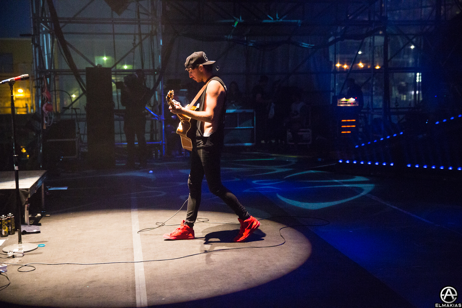 Alex of All Time Low on The Future Hearts Tour by Adam Elmakias