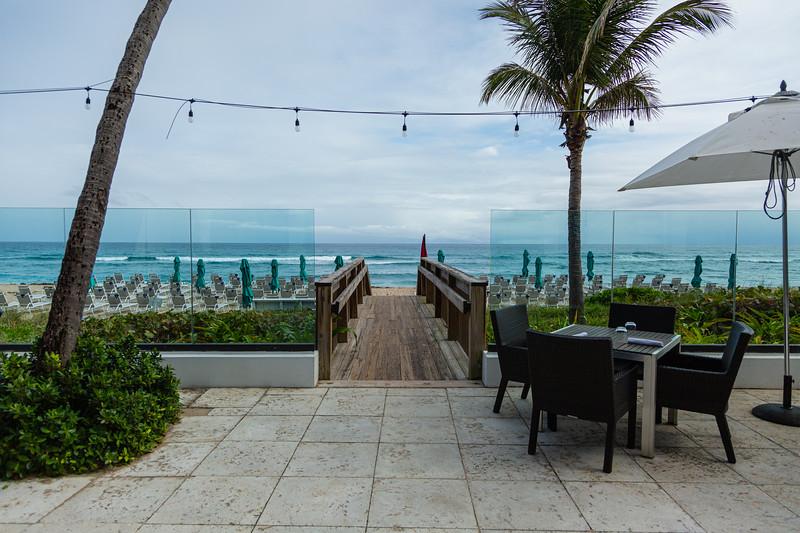 Brandon's at Tideline Resort, located at 2842 S Ocean Blvd, Palm Beach, Florida, on Friday, January 24, 2020. [JOSEPH FORZANO/palmbeachpost.com]