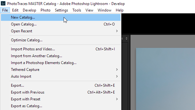 Merging Lightroom Catalogs -