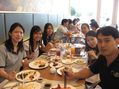Lunch Farewell party for Pung@King Power