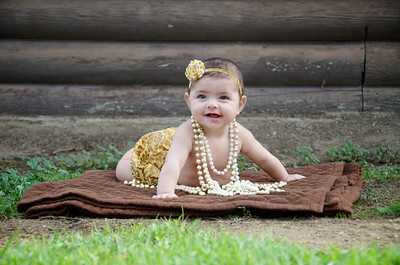 Baby Claire {6 Months!}