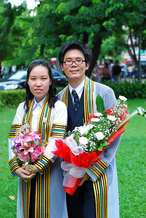 Win & Lek Gradulate Ceremony กล้องนน