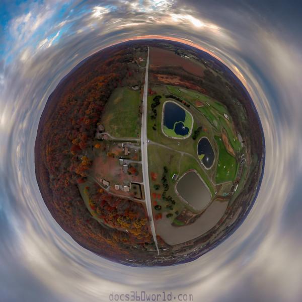 1561 - uasp - Autumn in elverson Route 23 tinyplanet