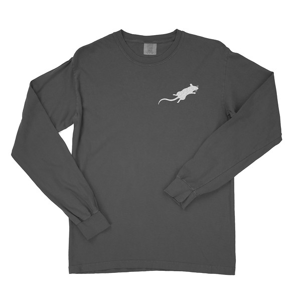 Organ Mountain Outfitters - Outdoor Apparel - Mens T-Shirt - Desert Rat Long Sleeve Tee - Graphite Front 2.jpg