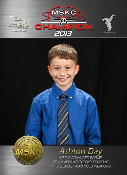2013 MSKC Champions Portraits