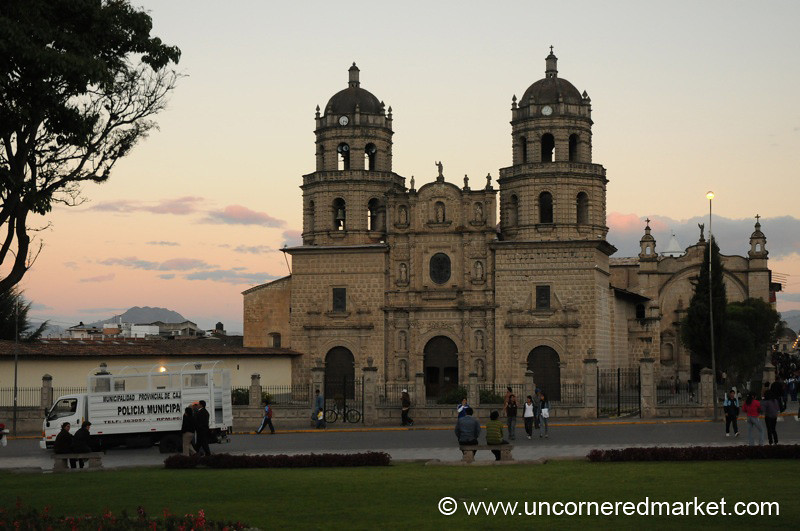 San Francisco Church II - Cajamarca, Peru