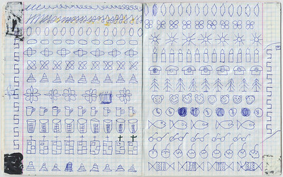 2011-2014, Olya's copybook from Philippok