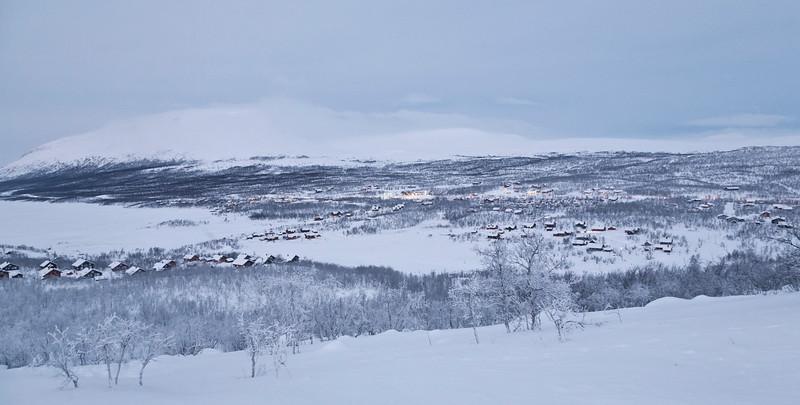 Kilpisjärvi with Saana