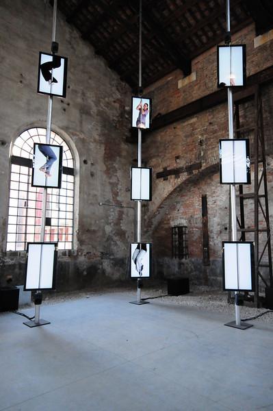 Ann-Sofi Sidén Same Unknown (Strain I). 2009 9 channel video installation