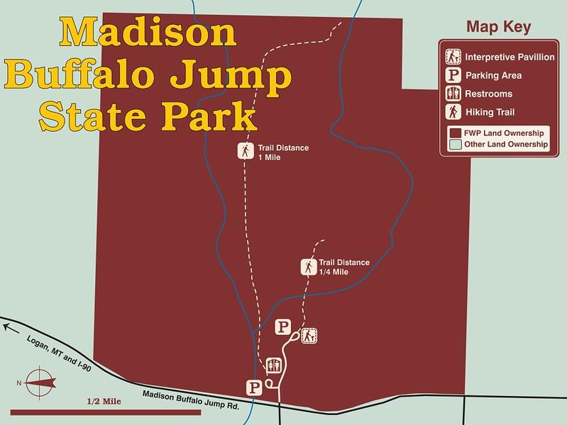 Madison Buffalo Jump State Park
