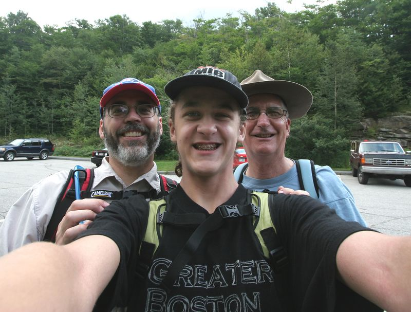 Hiking in New Hampshire - assorted photos