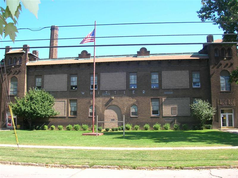 . Historic photo provided by Jim Smith <br> Whittier Junior High School was open from 1922 to 2010 at 3201 Seneca Ave., Lorain.