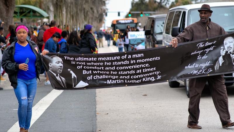 Lakeland Florida MLK Jr. Parade 2017