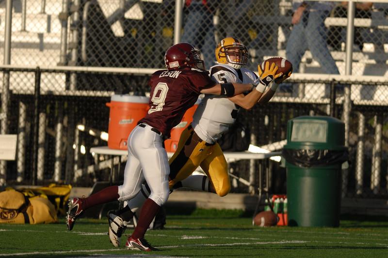 Royal Oak, Michigan,8/31/2006  NIKON D200,300 at 2.8 & 1/6400  Birmingham Seaholm vs North Farmington High School Varsity Football